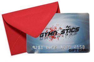 Gymnastics Unlimited gift card