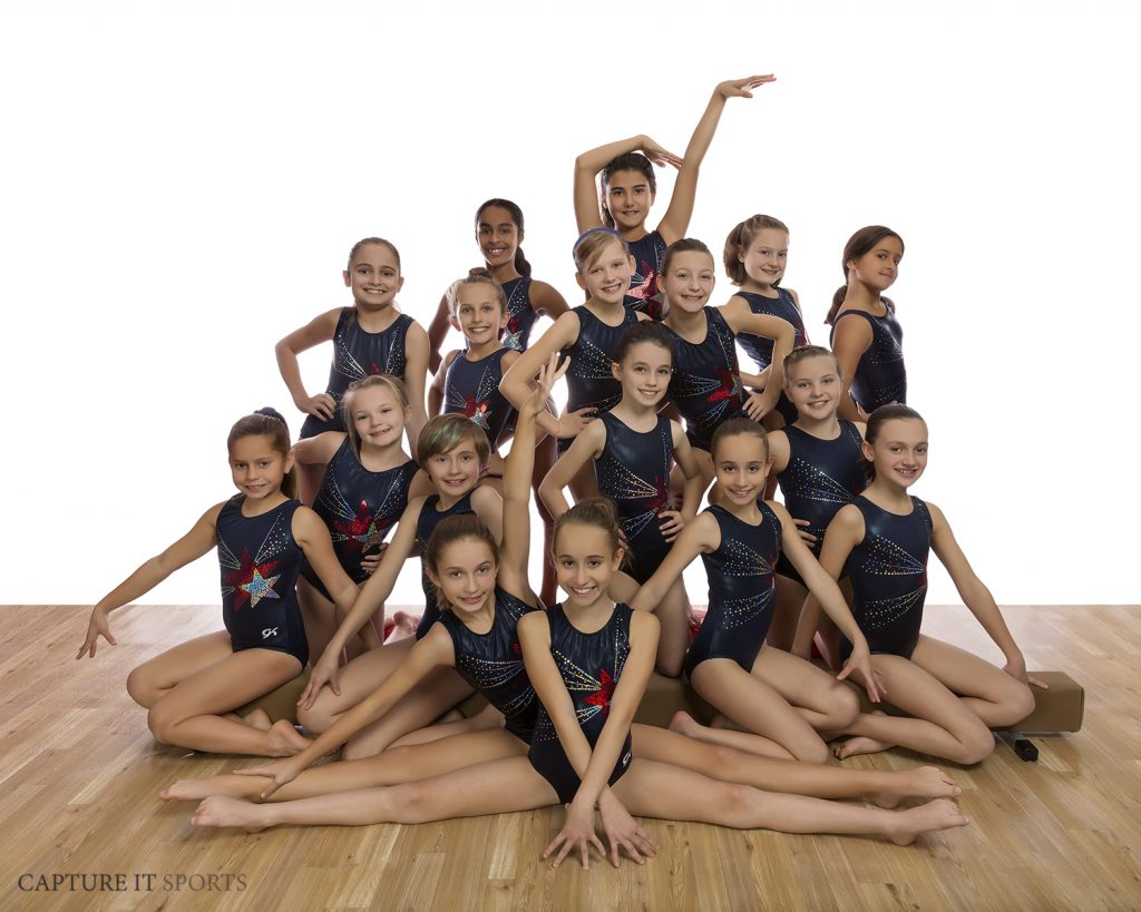 gymnastics unlimited galaxy competition team