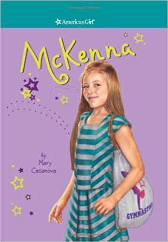 american girl mckenna gymnastics book