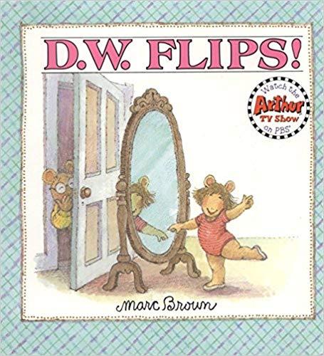 dw flips arthur gymnastics book