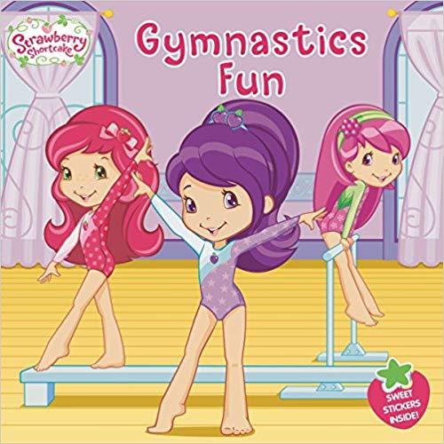 gymnastics fun strawberry shortcake gymnastics book