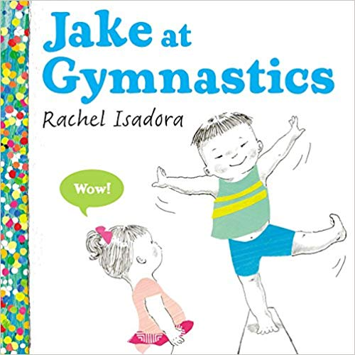 jake at gymnastics gymnastics book