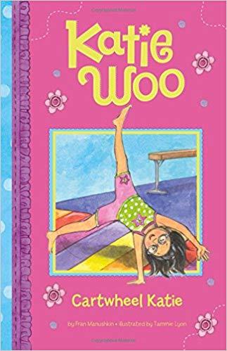 katie woo cartwheel katie gymnastics book