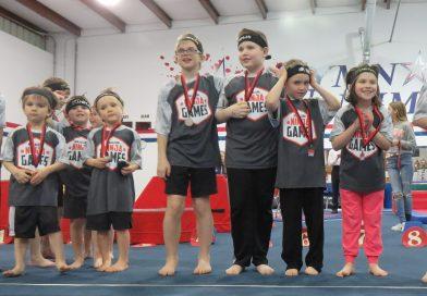 gymnastics unlimited ninja games