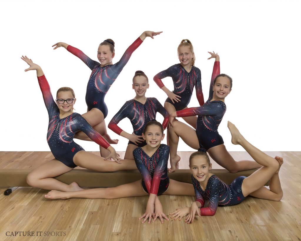 Gymnastics Unlimited USAG 4 Team