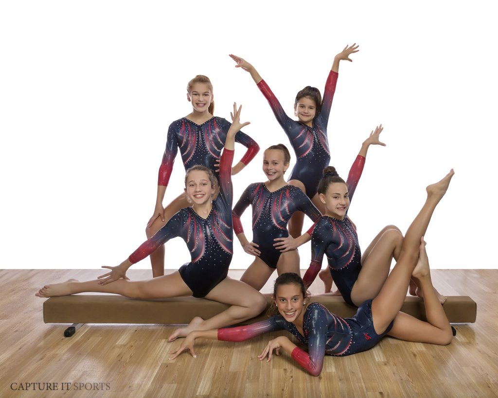 Gymnastics Unlimited USAG 6 Team