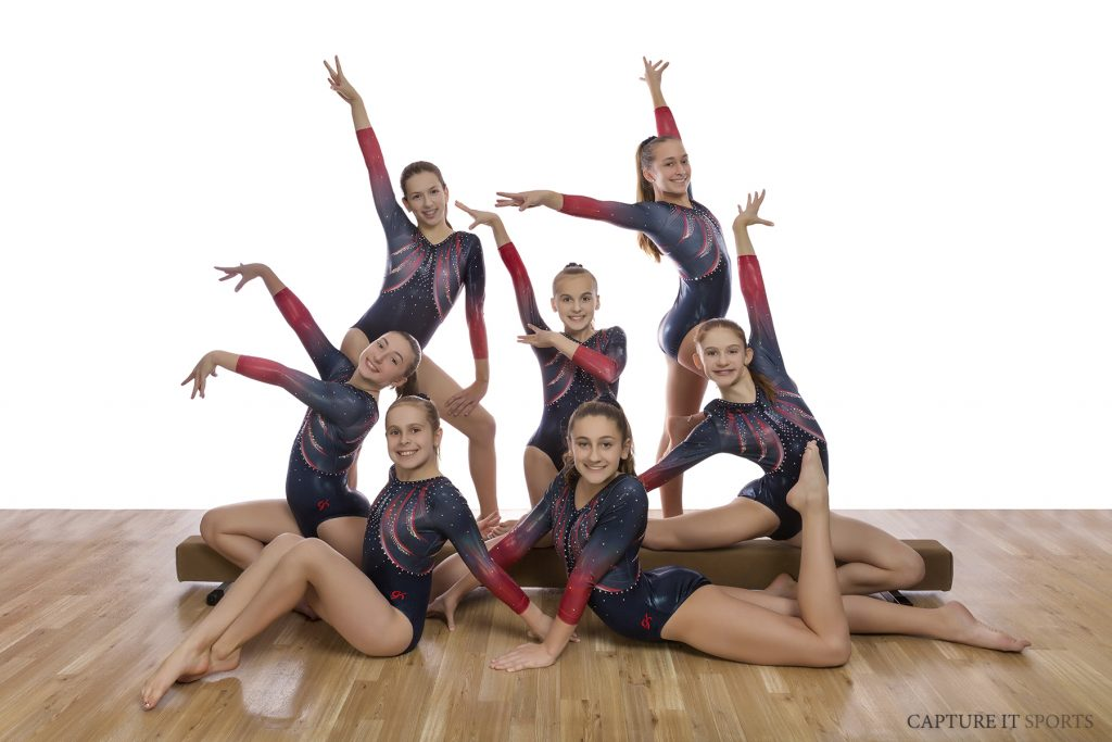 Gymnastics Unlimited USAG 7 Team