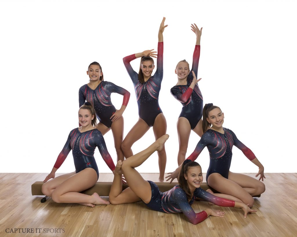 Gymnastics Unlimited USAG 8 Team