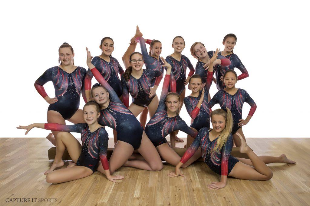 Gymnastics Unlimited Xcel team