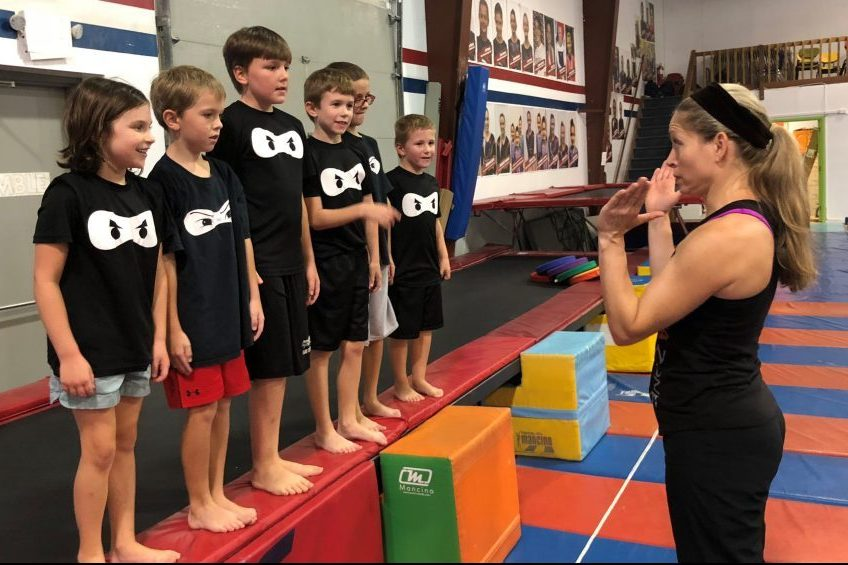Gymnastics Unlimited Ninja Zone Flemington NJ