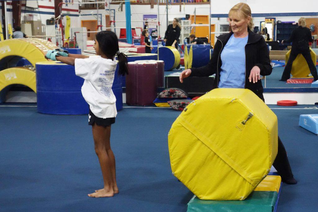 Private gymnastics lesson Gymnastics Unlimited