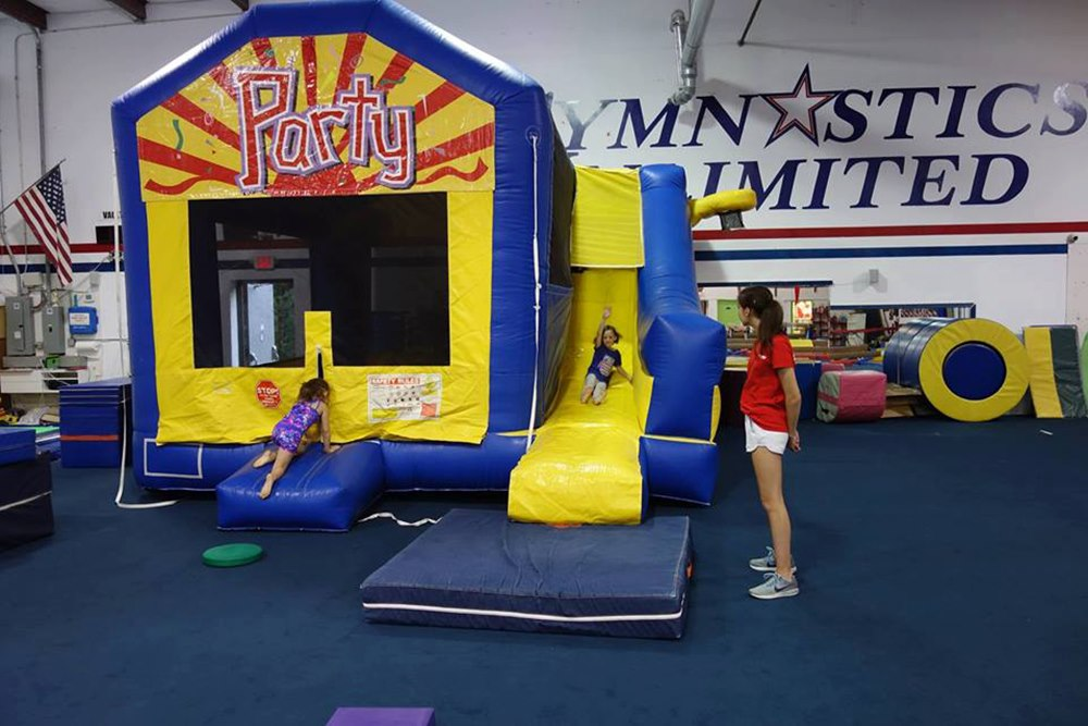 Gymnastics Unlimited Bounce House