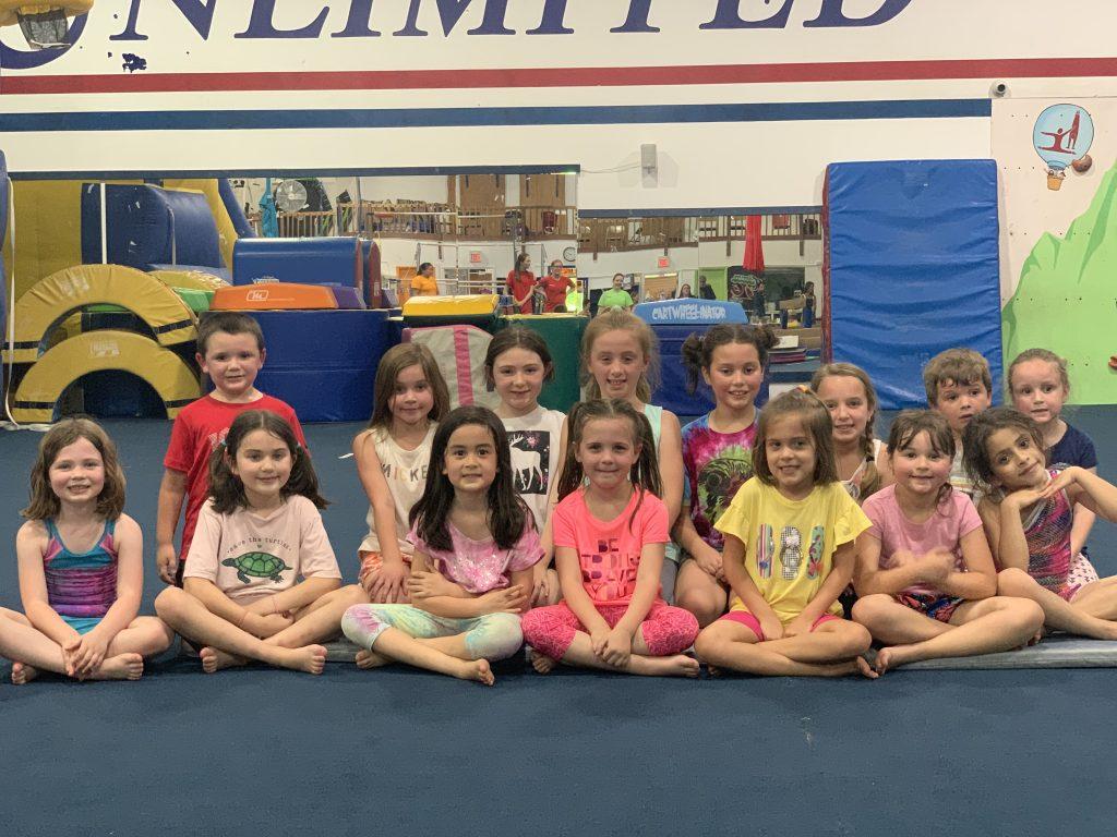Gymnastics Unlimited Gymnastics Birthday Party