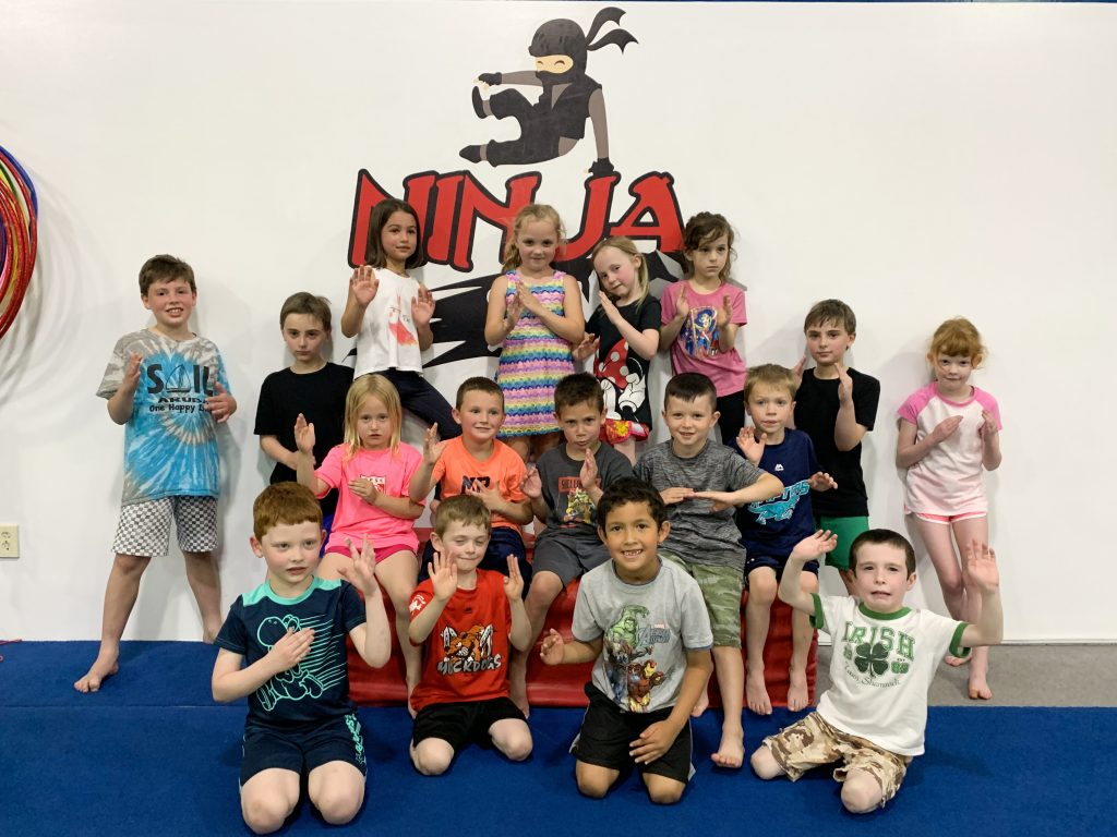 Gymnastics Unlimited Ninja Zone Birthday Party