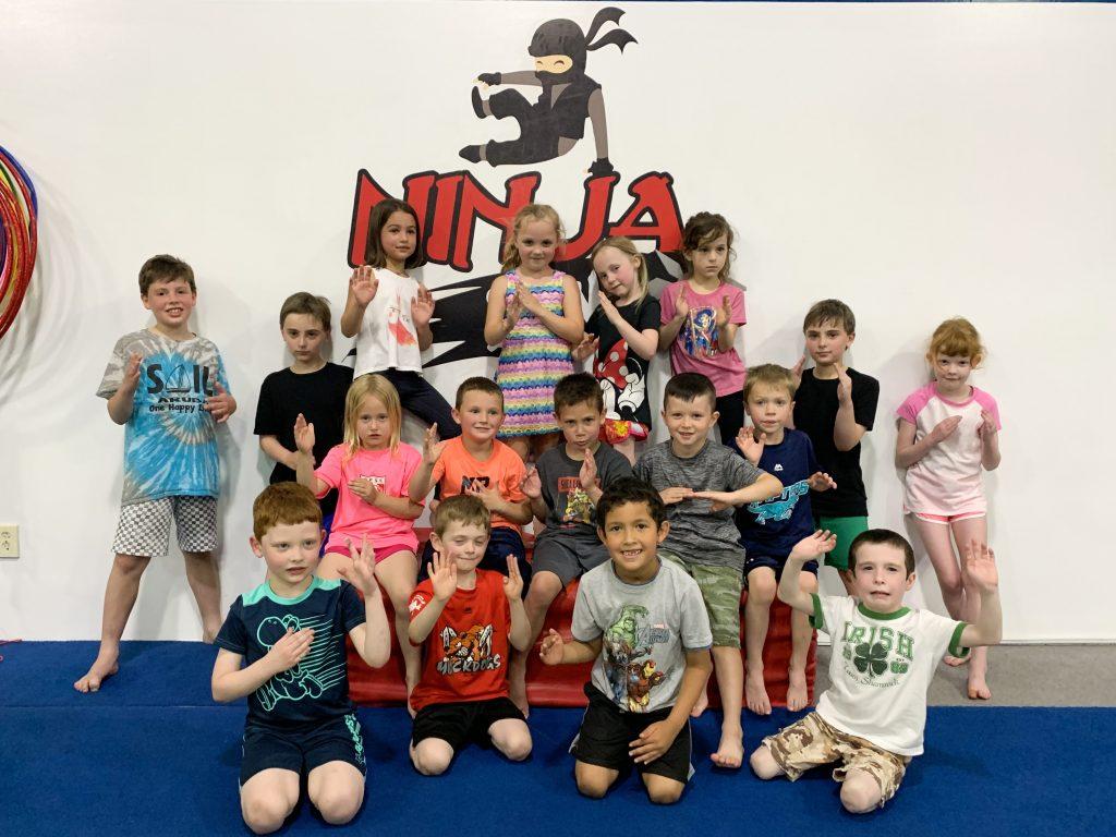 Gymnastics Unlimited Ninja Zone Birthday Party