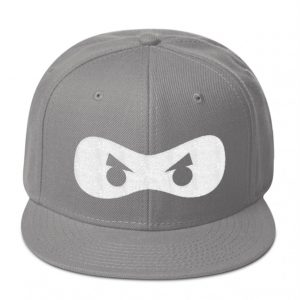 Gray ninjazone hat