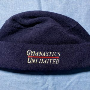 gymnastics unlimited winter hat