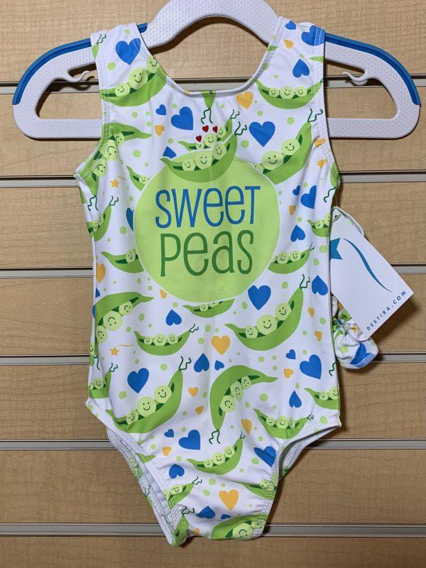 Gymnastics Unlimited Sweet Peas leotard