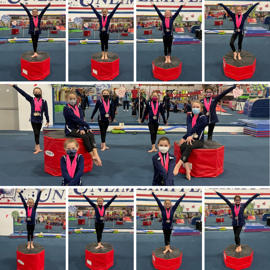 gymnastics unlimited levels 3 and 4 competitive team