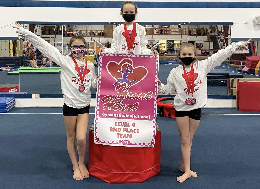gymnastics unlimited usag level 4 team