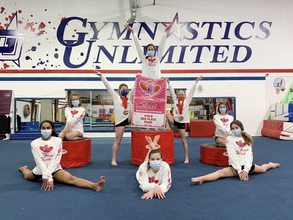 gymnastics unlimited xcel gold