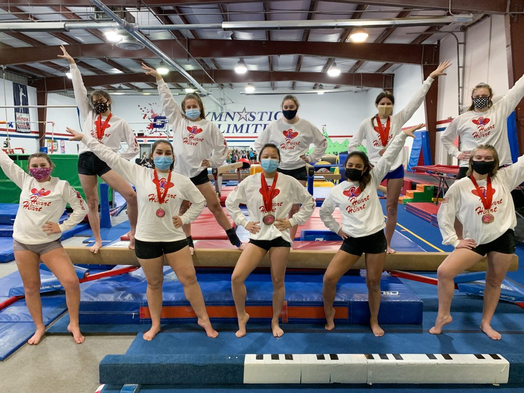 gymnastics unlimited xcel platinum team