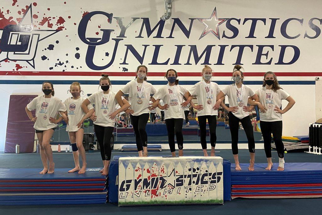 gymnastics unlimited 5 6 7 8 team