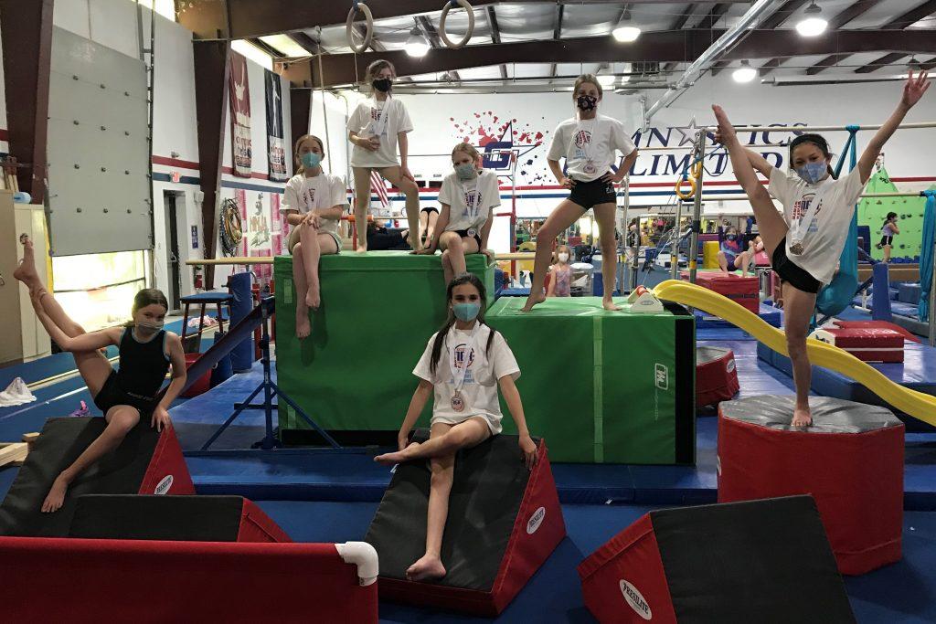gymnastics unlimited silver team
