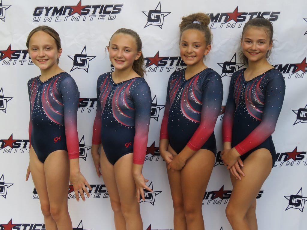 gymnastics unlimited nga level 4 team