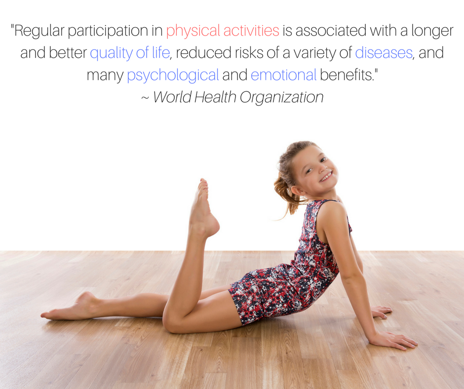 Reasons To Do Gymnastics - Health Benefits