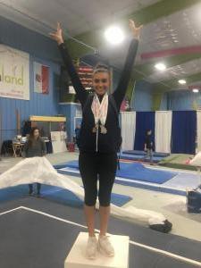 JOGA State AA Champion Cassie Diaz (2018)