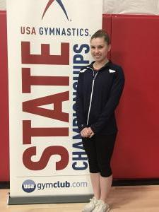 State Vault, Floor, and AA Champion Rebecca Lezon (2018)