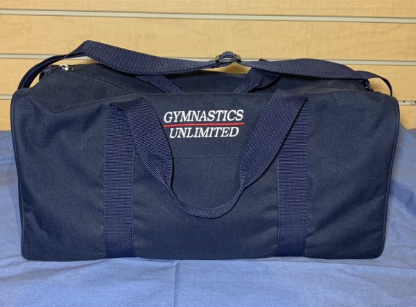 Gymnastics Unlimited duffel bag
