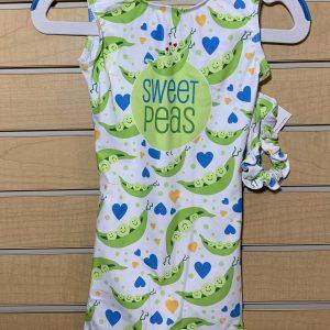 Gymnastics Unlimited Sweet Peas unitard