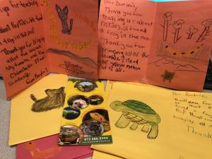 Thank You Cards to Special Guests