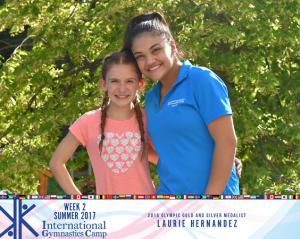 IGC with Laurie Hernandez (Summer 2017)