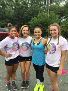 Meeting Laurie Henderson at The Color Run (2017)