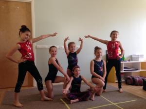 Performance Team at the Magnolia Montessori School's Harvest Celebration (with Mini Stars)
