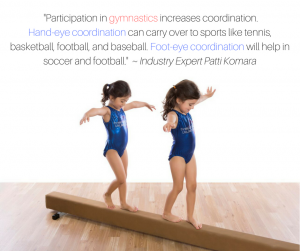 Reasons To Do Gymnastics - Coordination